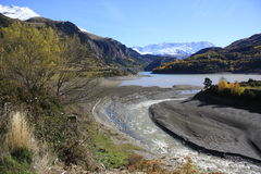 Berg i Pyrenees Arkivfoton