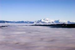 Berg i Slovenien Arkivfoto