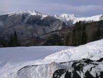 Berg i Sochi Arkivfoto