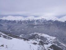 Berg i Sochi fotografering för bildbyråer