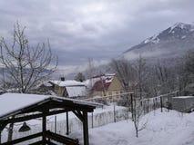 Berg i Sochi royaltyfri bild
