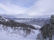 Berg i Sochi Royaltyfri Foto