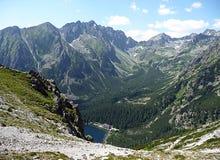 Berg i sommaren, höga Tatras, Slovakien, Europa royaltyfria bilder