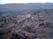 Berg i Tafraout Arkivfoto