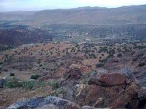 Berg i Tafraout Arkivfoton