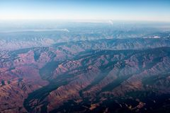 Berg i Utah arkivbilder