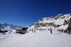 Berg i vintern Royaltyfri Bild