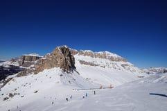 Berg i vintern Royaltyfri Foto
