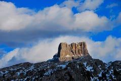Berg im Dolomit Lizenzfreies Stockfoto