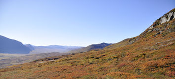 Berg im Herbst Lizenzfreie Stockfotos