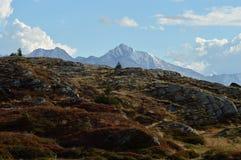 Berg im Nationalpark Vanoise Lizenzfreie Stockfotografie