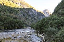 Berg im Süden von Norwegen Lizenzfreie Stockbilder
