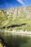 Berg im Süden von Norwegen Lizenzfreie Stockfotos