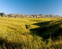 Berg Isalo, Nationaal park Stock Afbeelding