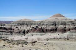 Berg in Ischigualasto, Valle DE La Luna Royalty-vrije Stock Foto