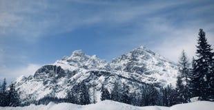 Berg in Italien stockfotografie