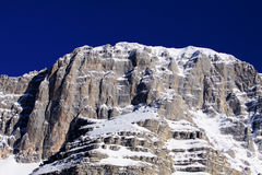 Berg - Italien - Dolomites Arkivbild