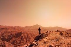 Berg Jebel Jais in Ras Al Khaimah stockbilder