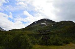Berg in Jotunheimen stockbild