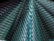 berg jul, polygon stock illustrationer
