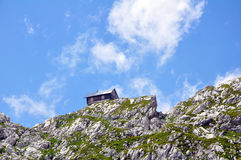 Berg Kanin in den julianischen Alpen Lizenzfreie Stockfotos