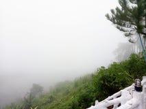 Berg Khoakoh Phetchabun stockfotos