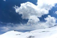 Berg in Kichik-Alai-Strecke Lizenzfreies Stockfoto