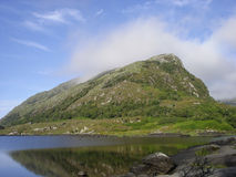 Berg in Killarney Nationaal Park, Ierland Stock Afbeelding