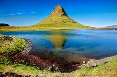 Berg Kirkjufell, Westelijk IJsland Royalty-vrije Stock Afbeelding
