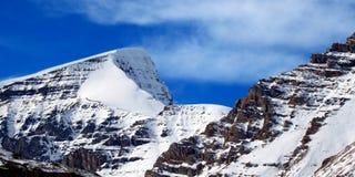 Berg Kitchener Jasper National Park stockfotografie