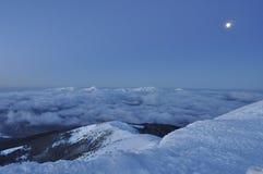 Berg-Knall Iwan auf der montenegrinischen Kante Stockbild