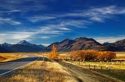 Berg-Koch, Canterbury, Neuseeland Lizenzfreies Stockbild