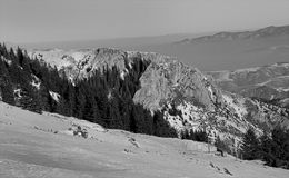 Berg Kopaonik Royaltyfri Fotografi