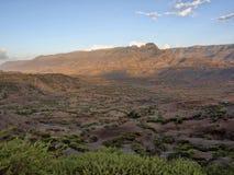 Berg kultivierte Ackerland, Äthiopien lizenzfreie stockfotos