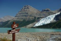 Berg lake Royalty Free Stock Photography