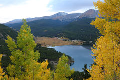 Berg Lake Royaltyfri Foto