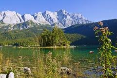 Berg lake Royaltyfri Fotografi
