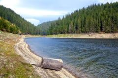 Berg lake Royaltyfri Bild