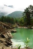 Berg lake arkivfoton