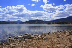 Berg Lake II royaltyfria bilder