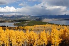 Berg Lakes Arkivfoto