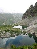 Berg Lakes Royaltyfri Fotografi