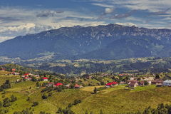 Berg landelijk landschap Royalty-vrije Stock Foto