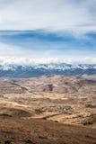 Berg landskap Arkivbild