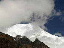 Berg in Langtang Royalty-vrije Stock Afbeelding