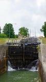 Berg locks in Göta canal in Sweden Stock Image