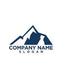 Berg Logo Template Vector Stockbild
