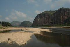 Berg Longhu, Yingtan, Jiangxi Stockfotografie