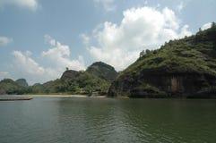 Berg Longhu, Yingtan, Jiangxi Stockbilder