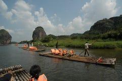 Berg Longhu, Yingtan, Jiangxi Lizenzfreies Stockbild